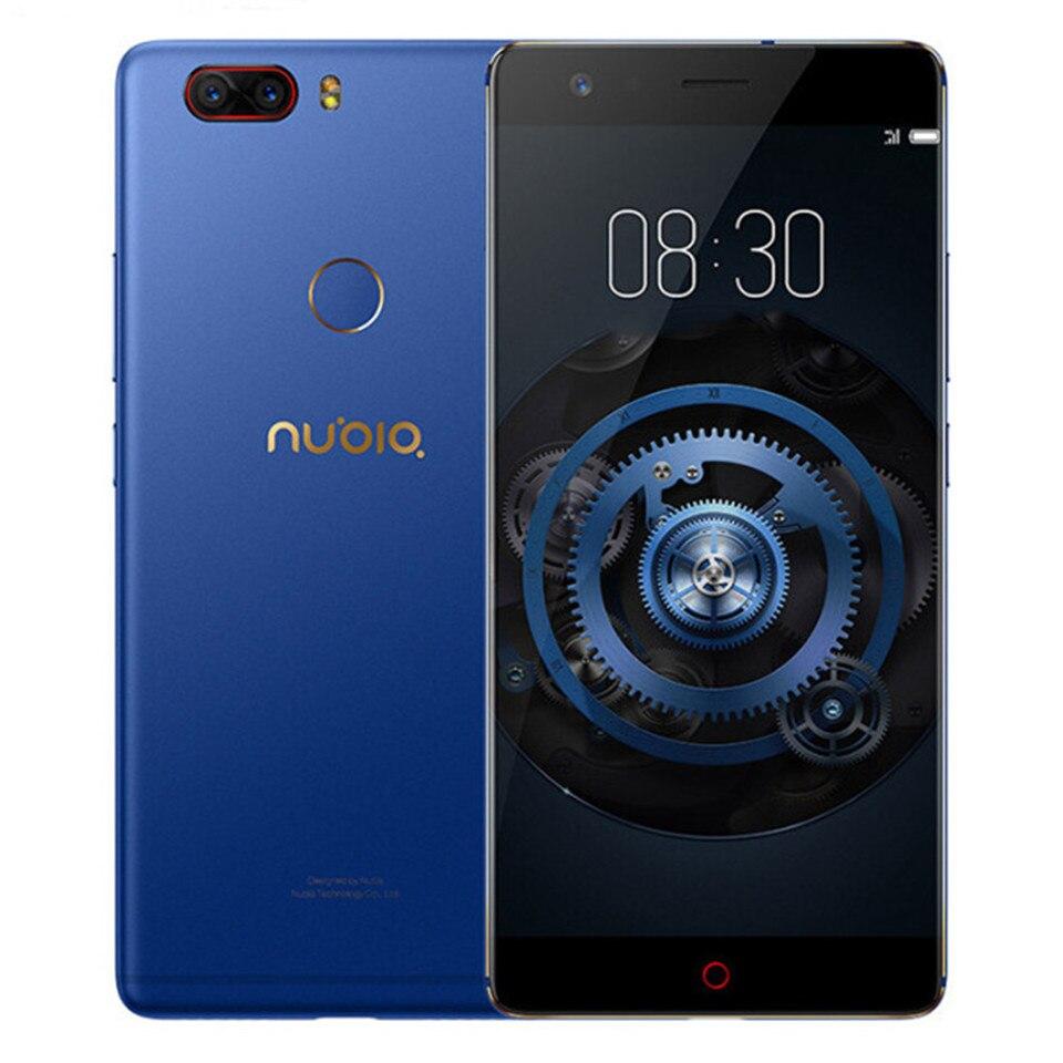 D'origine ZTE Nubia Z17 Lite Sans Frontières 6 gb RAM 64 gb ROM Mobile Téléphone Snapdragon 653 Octa Core 5.5 je 13MP Android 7.1 4g LTE