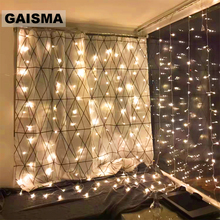 4x3/6x3/10x3M Fairy Icicle LED Curtain Garland Christmas Lights Decoration For Party New Year Wedding Holiday Decor