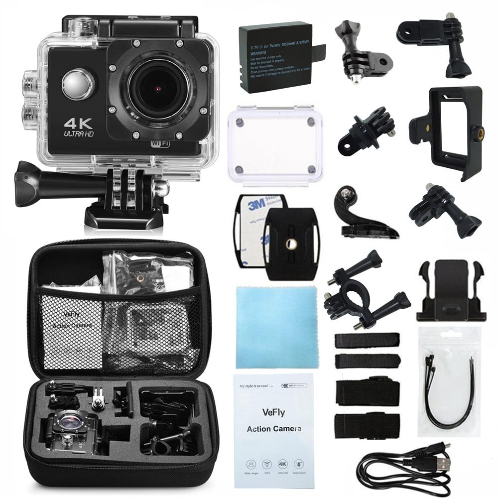 VeFly Sport & Action Video Kameras cam batterie dvr auto camcorder fahrrad lcd aktionen kamera sport kamera action wifi
