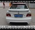 520i 523i 528i Spoiler Fibra De Carbono Tronco Spoiler Traseiro Asa Traseira Asa Tronco Saqueador Bota Tampa do Tronco Para BMW 540i 530i E39 5 Series