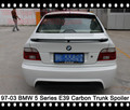 520i Rear Spoiler 523i Carbon Fiber Trunk Spoiler 528i Rear Wing 530i Trunk Wing Boot Spoiler 540i Trunk Lid For BMW E39 5Series