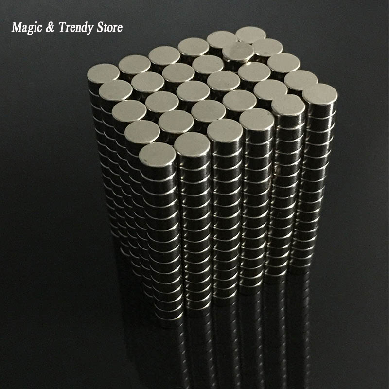 50pcs 6mm x 3mm N52 Round Magnets Rare Earth Neodymium Magnets Strong Permanent Disc Cylinder Magnet qs 3mm216a diy 3mm round neodymium magnets golden 216 pcs page 6