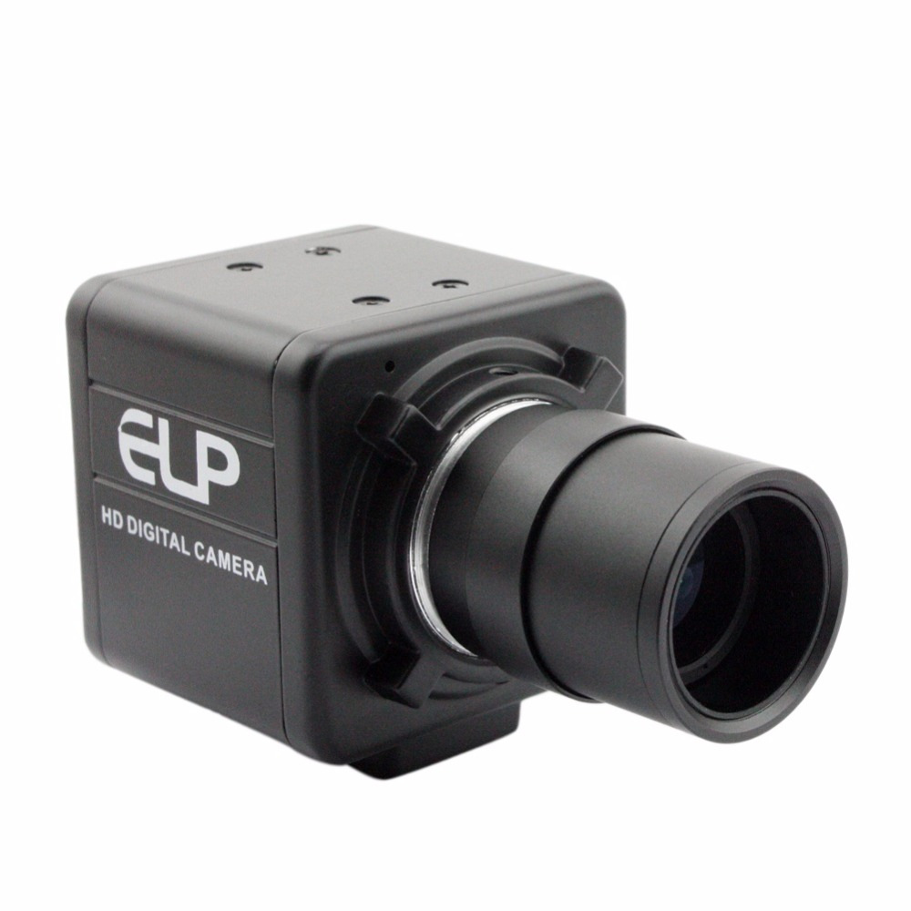1080P High Speed High frame rate 60fps/120fps/260fps Manual zoom Varifocal Lens CCTV Security Mini box UVC USB Camera 2MP