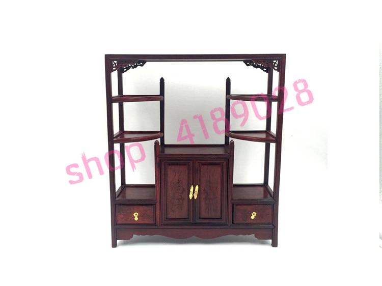 Aile de poulet en bois naturel, base en bois massif, mini meuble petite table longue et étroite, ornement pendule rack.2 #