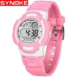 Детские спортивные часы Мода цифровой светодиодный кварц Wirstwatch для мальчиков и девочек 2018 детская 50 м Водонепроницаемый часы Дата Часы