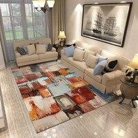 PAYSOTA Modern Carpet Minimalist Abstract Art Sofa Coffee Table Rug Nordic Living Room Rectangular Bedroom Covered