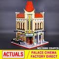 Creador LEPIN 15006 Calle de La Ciudad Palacio Cine Modelo Building Blocks establece Ladrillos Juguetes Compatible con 10232