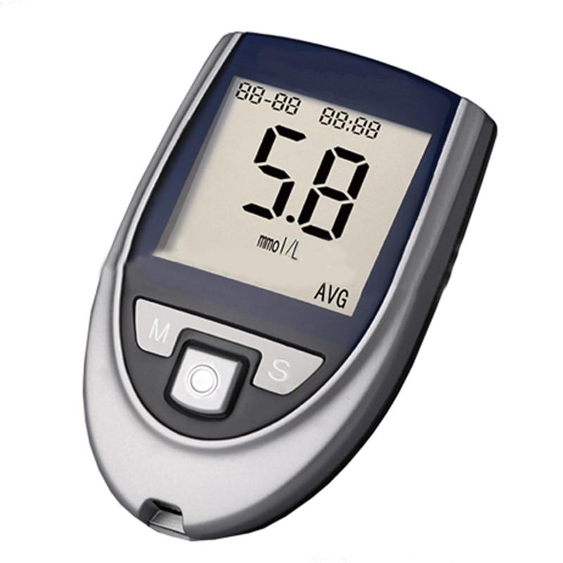 Free Blood Glucose Meter >> Health Care Glucose Monitor Glucometer Blood Glucose Monitor Diabetes Test Meter Kit Has 50pcs ...