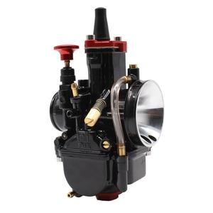 Image 2 - PowerMotor 21 24 26 28 30 32 34mm Universal Black Mikuni Maikuni PWK Carburetor Parts Scooters With Power Jet Motorcycle ATV