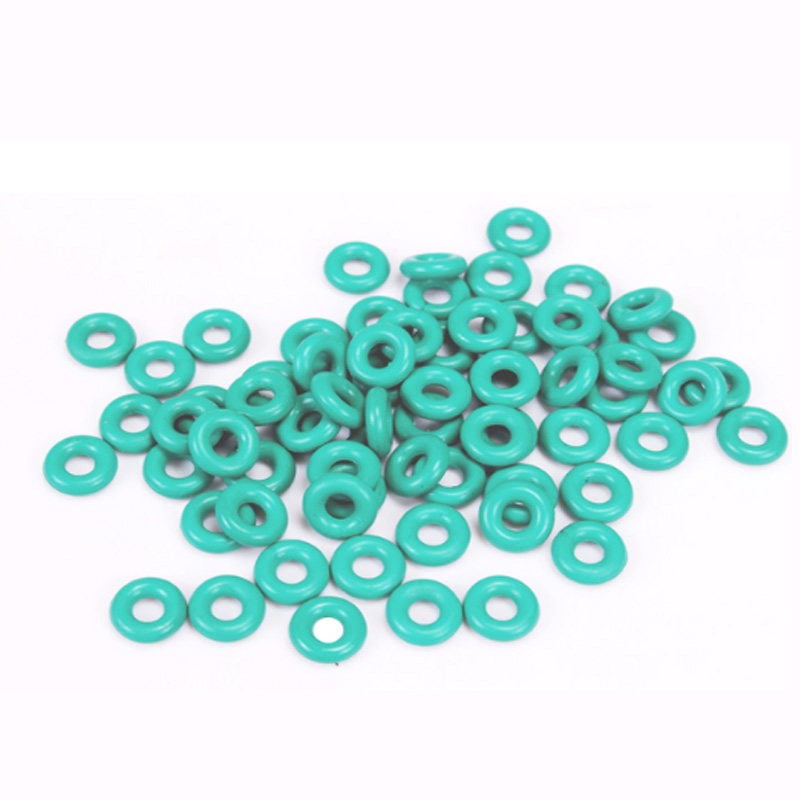 30 шт. 1,9 мм диаметр проволоки зеленый фторкаучук кольцо Водонепроницаемая изоляционная лента наружный диаметр 21 мм~ 32 мм