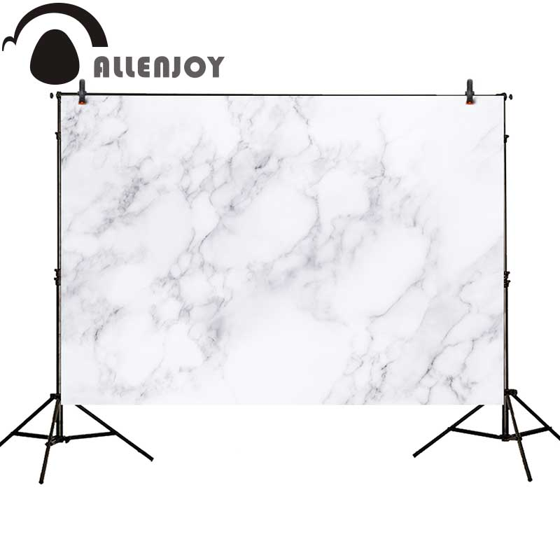 Allenjoy photography backdrop modern white marble fashion new professional background photocall customize photo studio allenjoy backdrop spring background green grass light bokeh dots photocall kids baby for photo studio