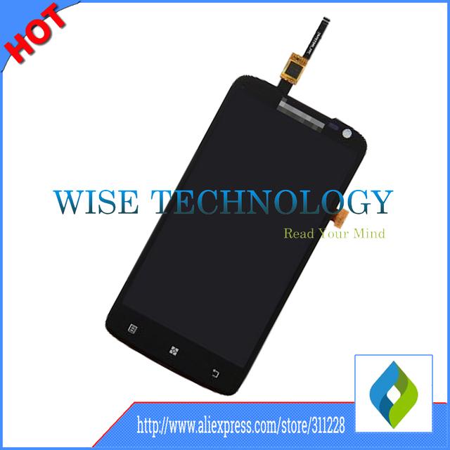 Garantía 100% para lenovo p780 lcd de pantalla con pantalla táctil digitalizador asamblea envío libre, teléfono móvil LCD