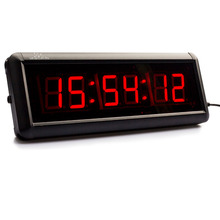29cm multifunction 6 Digital Display countdown Clock HH:MM:SS Stopwatch LED Timer For Gym Training Basketball table tennis match