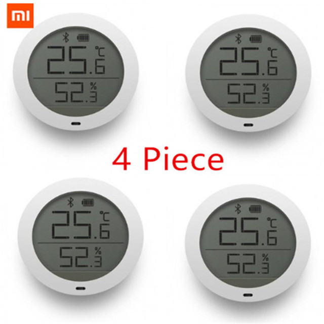 Bundled Sale Xiaomi LCD Screen Digital Thermometer Mijia Bluetooth Temperature Smart Humidity Sensor Moisture Meter Mi Home D5#