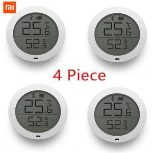Image 1 - Gebündelt Verkauf Xiaomi Lcd bildschirm Digitale Thermometer Mijia Bluetooth Temperatur Smart Feuchtigkeit Sensor/2 Feuchtigkeit Meter Mi Hause