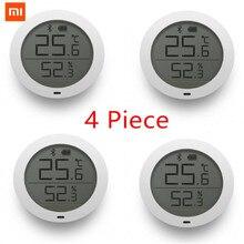 Venda empacotada xiaomi tela lcd termômetro digital mijia bluetooth temperatura inteligente sensor de umidade/2 medidor de umidade mi casa