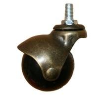 4Pieces/Lot  M10 Diameter:48mm Bronze Color Spherical Ball Universal Wheel Caster