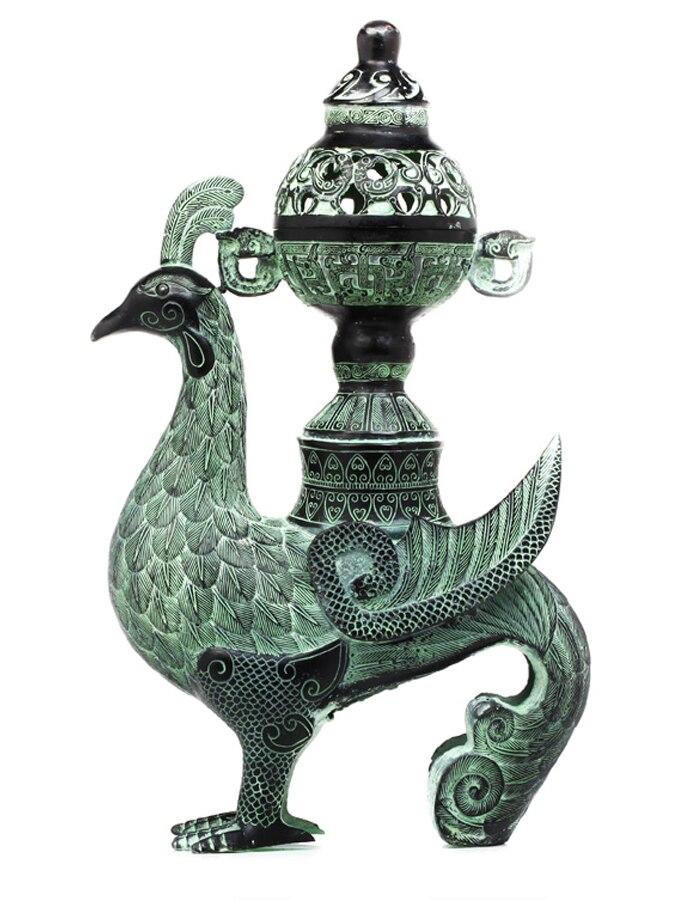 Antique bronze bronze copper A censer Home Furnishing decoration decoration