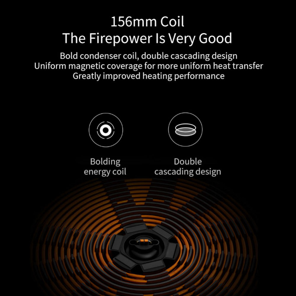 Xiaomi Mijia DCL01CM Induction Cooker Precise Control Heating Cookware Electric Tile Oven Cooktop Plate Stainless Steel Hot Pot (4)