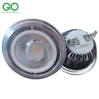 LED AR111 12W Cob Bridgelux LED ES111 QR111 Full Aluminum GU10 G53 Optional 12V AC DC
