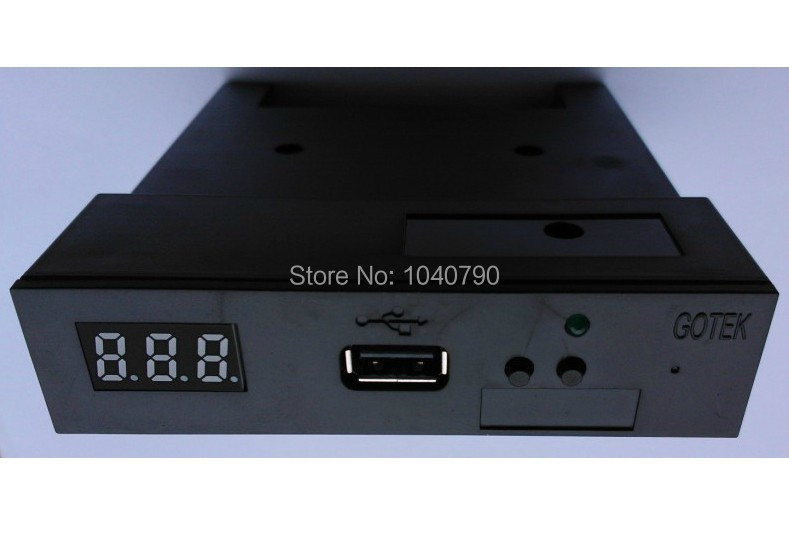 "2018 Version SFR1M44-U100K Black 3.5"" 1.44MB USB SSD FLOPPY DRIVE EMULATOR for YAMAHA KORG ROLAND Electronic keyboard GOTEK"