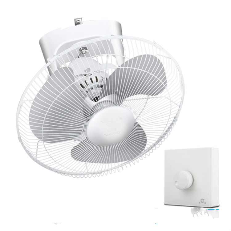 Ceiling-Fan Speed-Regulation 16inch 220V Head Shaking 55w Electric 400mm Stepless