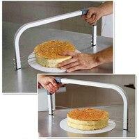 3 CAKE LAYER SLICER LEVELLER INTERLAYER INDUSTRY STANDARD Adjustable Wire Cake Slicer Leveler Stainless Steel Slices