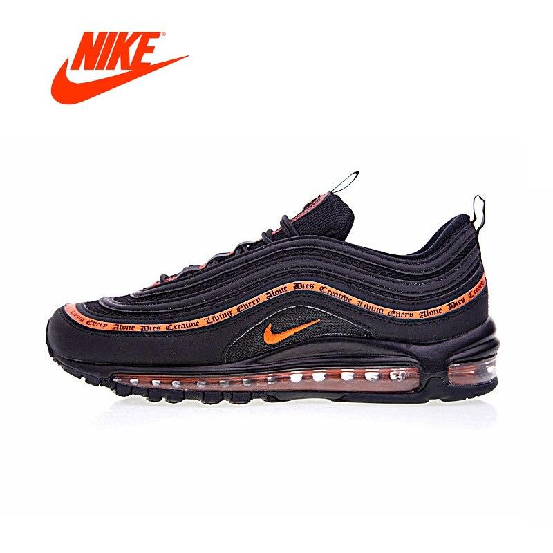 Оригинальный Новое поступление Аутентичные Nike влоне Air Max ОГ 97 мужские кроссовки Спорт на открытом воздухе хорошее качество дышащая