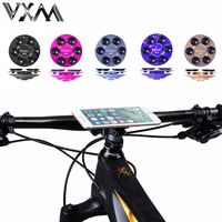 VXMปรับโทรศัพท์จักรยานสากลยืนมาร์ทโฟนอลูมิเนียมจักรยานH Andlebarสูญญากาศผู้ถือMountsดูดซิลิโคนชั้น...
