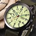 Presente perfeito Dos Homens de Quartzo Militar Do Exército Relógio Mostrador Preto Data Luxury Sport Relógio de Pulso Dropship Levert Dec1