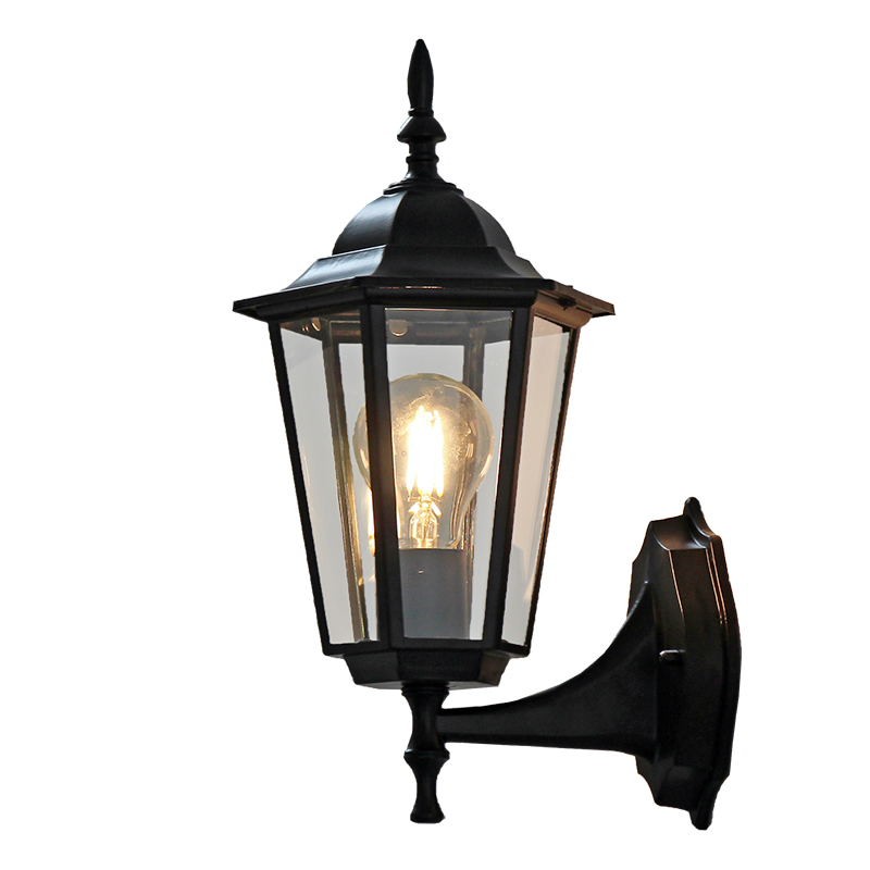 ФОТО 1X New Arrival Vintage Retro Exterior Outdoor Wall Lamp Sconce Lantern Light Fixture for Porch Patio Outdoor Led Wall Light