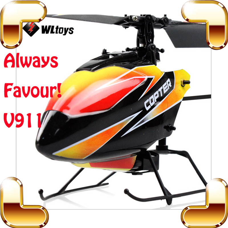 WLtoys V911 New Year Gift Single Blade RC Helicopter  2.4G 4 CH Remote Control Toys RTF Helicopter Electric Indoor Outdoor Fly wltoys v912 rechargeable 2 4ghz single blade 4 ch r c helicopter w 2 7 lcd remote control black