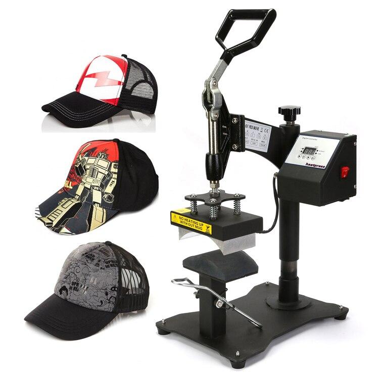 8 X 14CM CAP HAT HEAT PRESS TRANSFER T-SHIRT PRINTING DIGITAL CP815B MACHINE