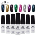 Saviland 1pcs 3D Cat Eyes UV Gel Polish Soak Off UV LED Nail Gel Manicure Permanent Nail Magnetic Gel Lacquer
