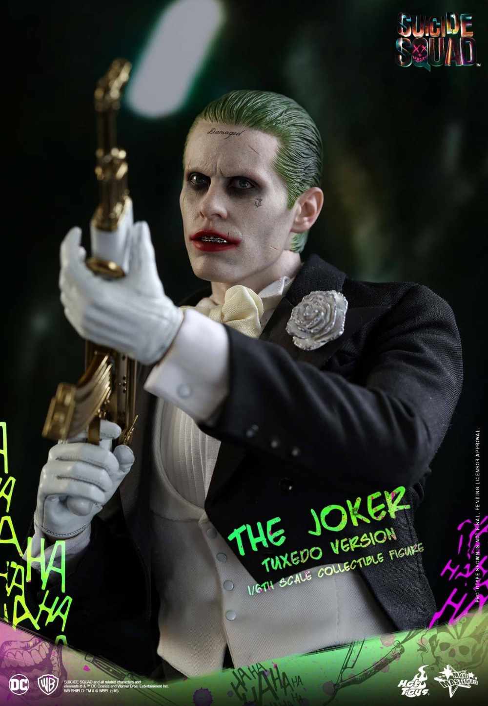 1/6th scale figure doll Collectible model plastic toy Suicide Squad The Joker Tuxedo Jared Leto 12 Action figure doll 1 6 scale figure doll terminator3 rise of the machines fembot t x 12 action figure doll collectible model plastic toy