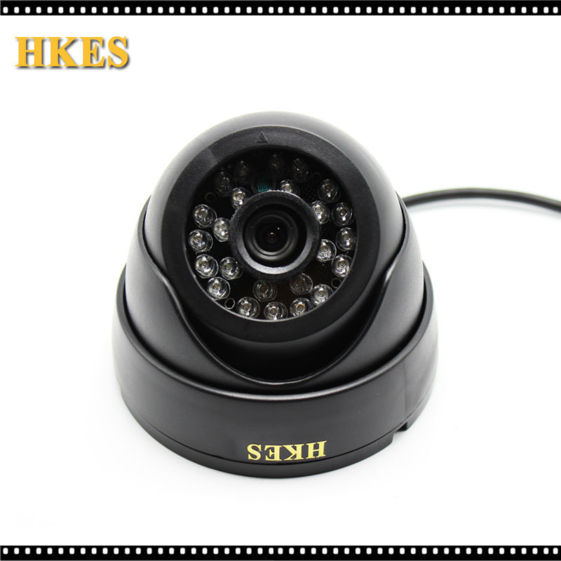 HKES 4pcs/lot HD Wired Security IP Camera IR-Cut Night Vision Video Recording Surveillance Network Indoor