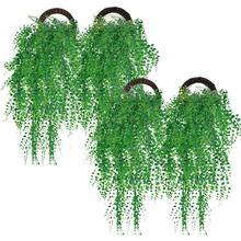 New Green Artificial Hanging Plant Simulated Leaves Fake Ivy Plants For Wedding Home Decor