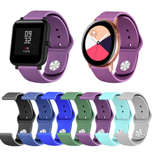 Fitness Watch Band for Apple watch Withings/Amazfit/General Watch Strap Smart Accessories Fashion Wrist Bracelet цена 2017