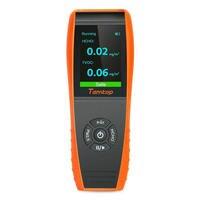 Качество воздуха детектор формальдегида монитор Температура и датчик влажности с PM2.5/PM10/HCHO/AQI/частиц Запись curve