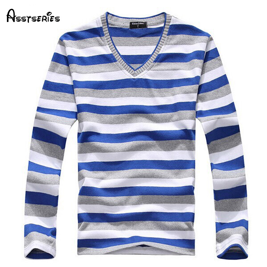 2019 Man Fashion Designer Brand Clothes Mens Jumper V Neck Male Stripe Sweaters Polo Pullover Sweater Plus Size L-4XL