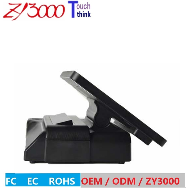 NEW stock a4 black Factory Wholesale Super Quality Beautiful New Design Pos terminal  With Stand And Adapter