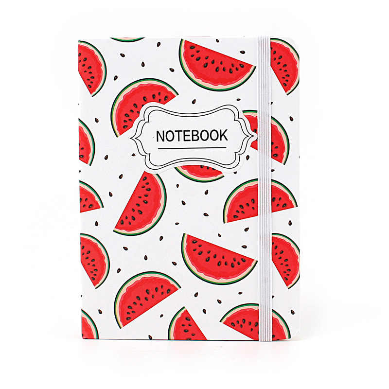 10.5*7.5cm Fruit Love Daily Office Supplies Week Planner Spiral Notebooks Day Plan Diary Notepads Meno Pad School Stationery