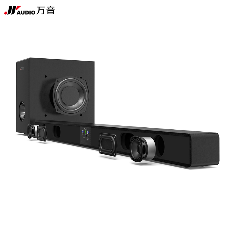 JY AUDIO A1S Cinema Sound Bar Bluetooth Column Woofer Speaker Wireless Surround Sound Speakers for TV Projector Home Hang Wall