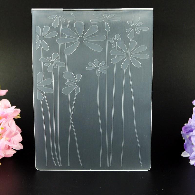 DIY Scrapbooking Cvetje Dandelion Embossing Datoteke Predloge kartic - Umetnost, obrt in šivanje - Fotografija 5