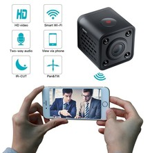цена на Wireless WiFi mini Camcorder Mini Pocket Camera HD 1080p Handhold Digital Cameras Portable DV Recorder 120 Degree Angle View Cam