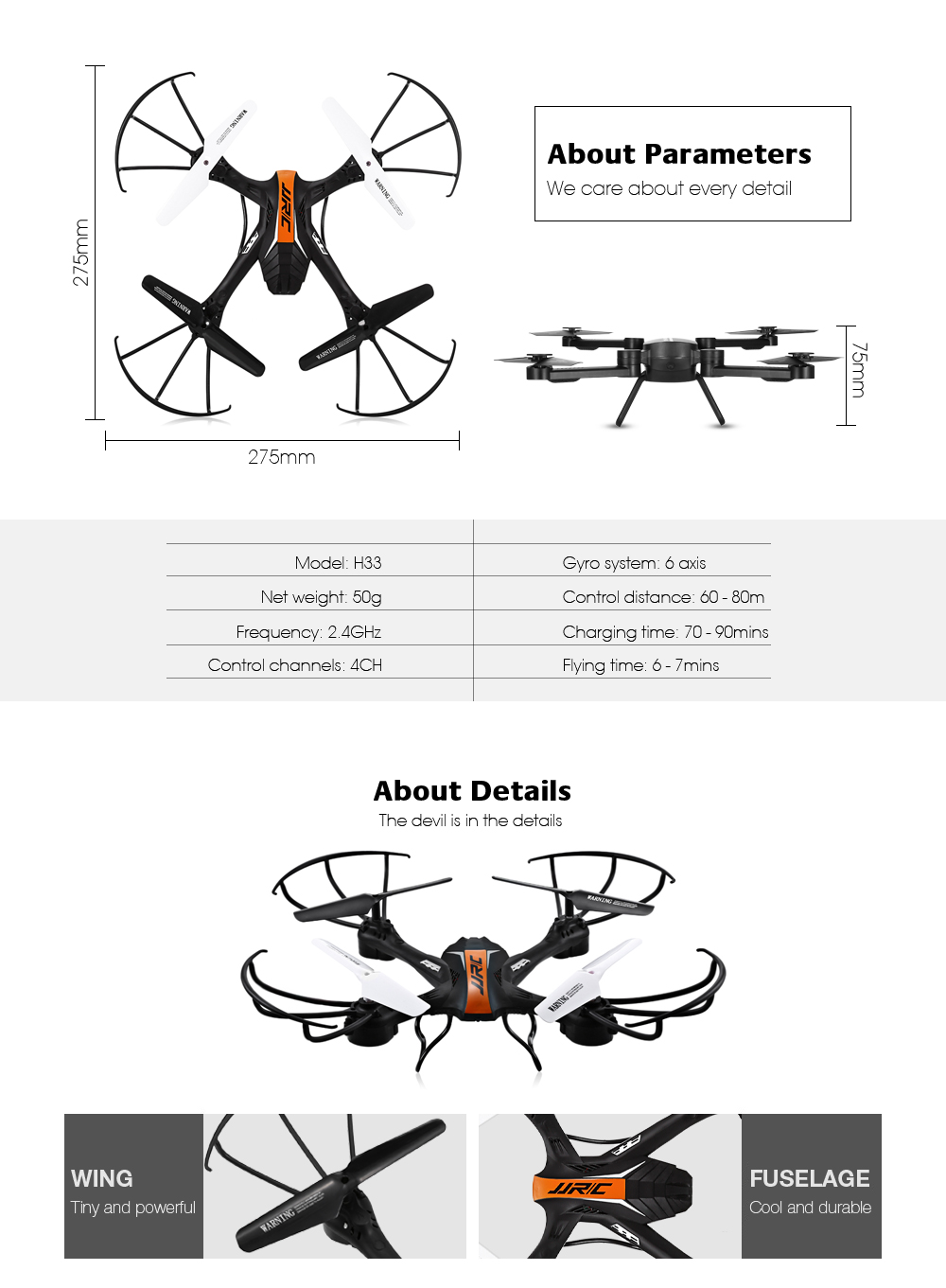 Jjrc H33 Mini Rc Drone Quadcopter 6 Axis Helicopter 4ch 2015 Silverado X61a Wiring Diagrams Only Specifications Age Range 14 Years Old Control Channels 4 Controller Mode Mode2 Material Abs Dimensions And Weight Product 00500 Kg