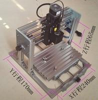 MINI CNC Router CNC 2417 500mw Laser GRBL Control DIY Engraving Machine 240 170 65mm Carving