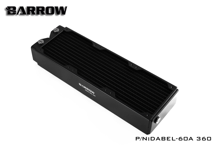 Barrow Dabel 60a 360MM single wave computer copper water radiator 60MM thick cooling cooler support pc