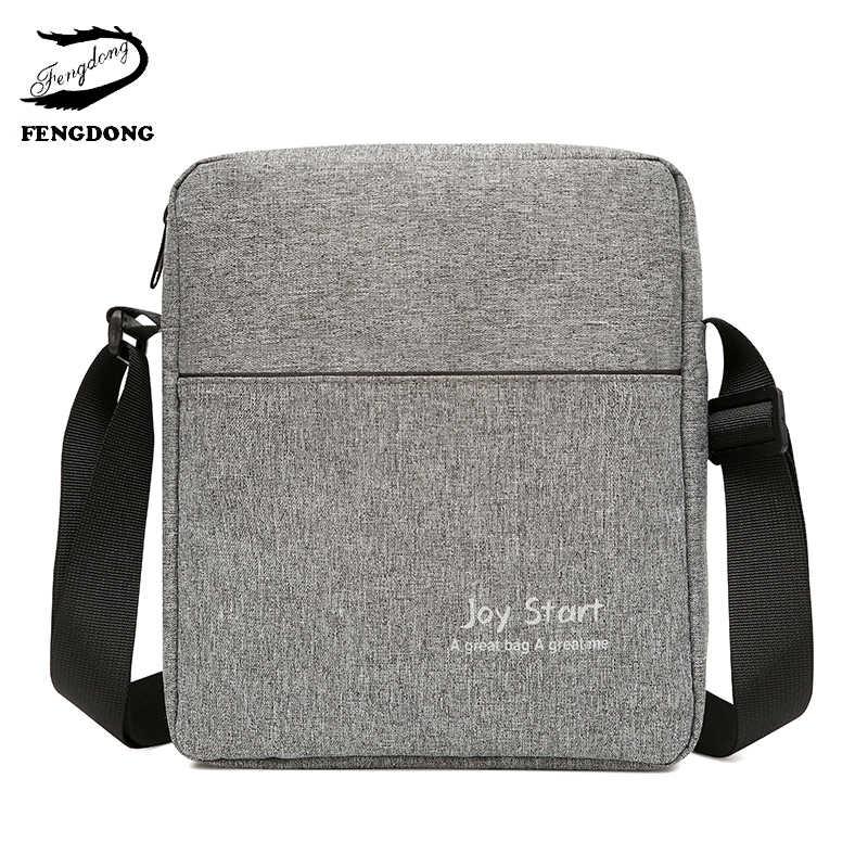 9b96a16a4c10 2019 Новая мужская сумка для отдыха мужская сумка через плечо переносная  нейлоновая сумка через плечо модная