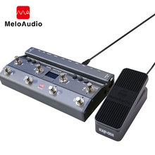 TS Mega 2 In 1 Midi Foot Controller With Audio Interface Guitar Pedal USB Recording For iPhone iPad Android Devices Mac PC